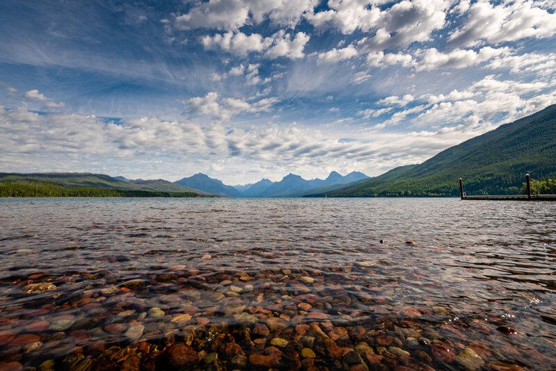 Lake McDonald, Apgar, Glacier National Park