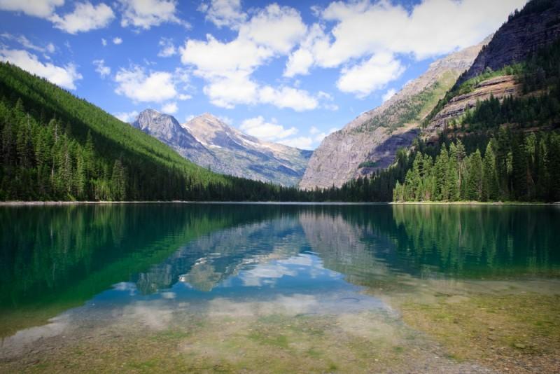 avalanche lake & trail