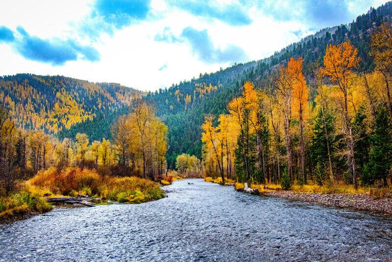 fall colors coming out missoula montana