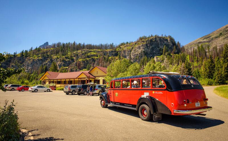 Red Bus, Glacier National Park's iconic tour bus