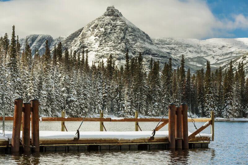 glacier park winter
