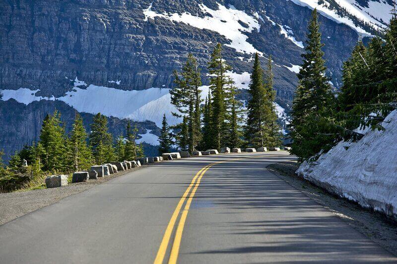 mountain road montana