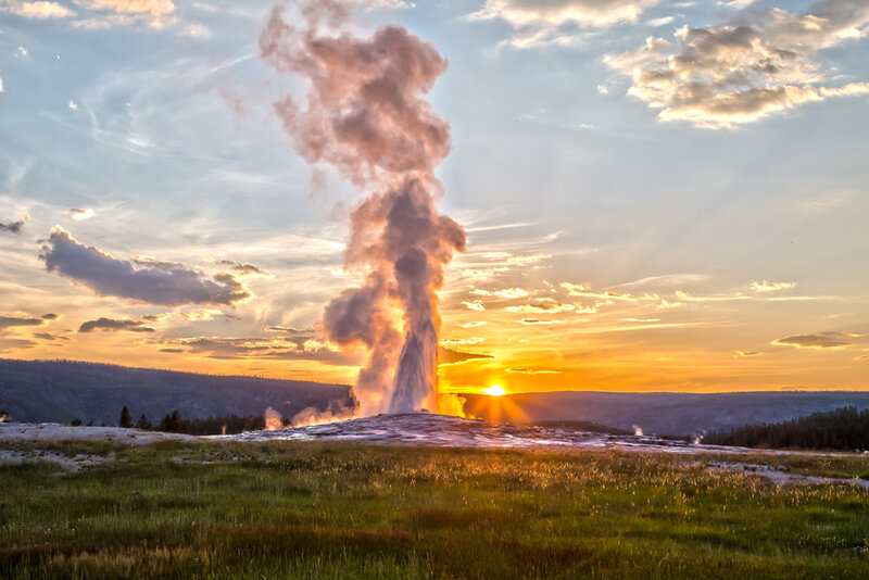 old faithful geysers