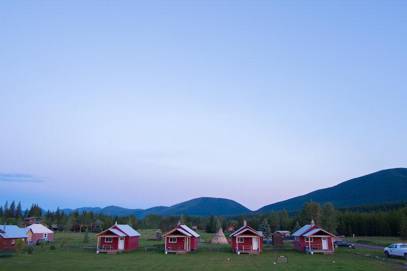 rent a cabin and escape into nature