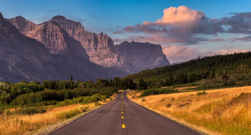 scenic highway montana