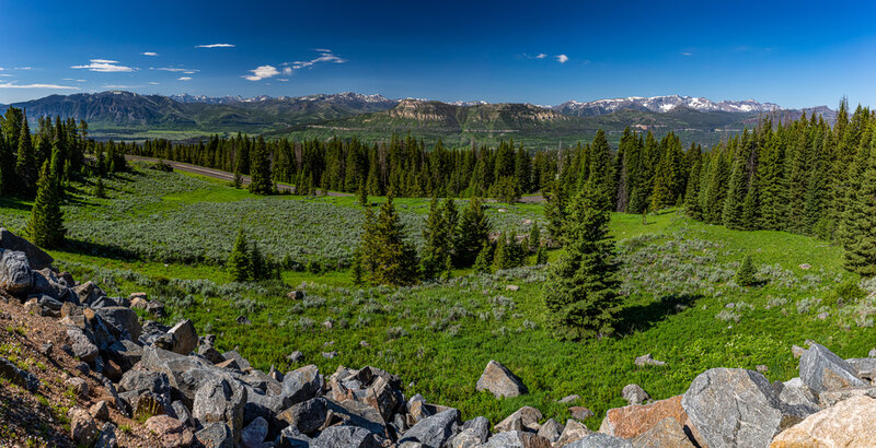 the beartooth's highway drive